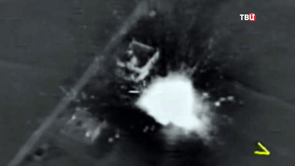 Авиаудар ВКС России по позициям террористов в Сирии