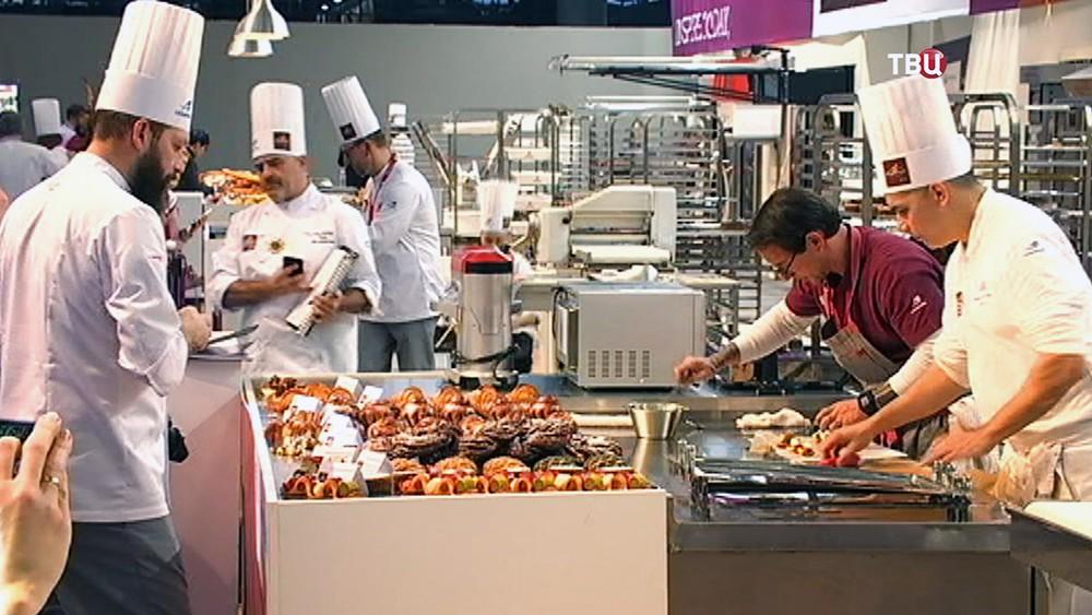 Международный чемпионат по пекарскому искусству