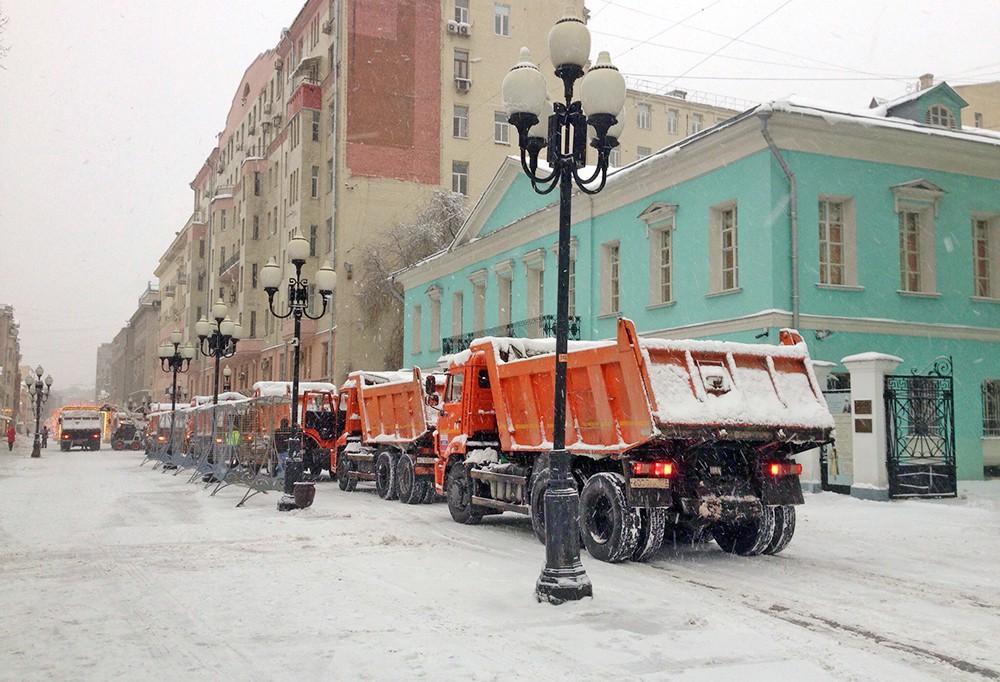 Произвести очистку крыш от снега