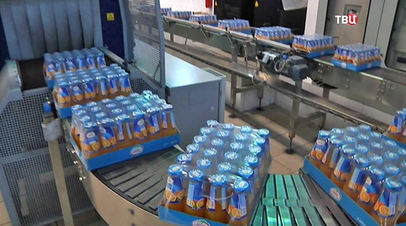 Завод по производству соков в Сирии