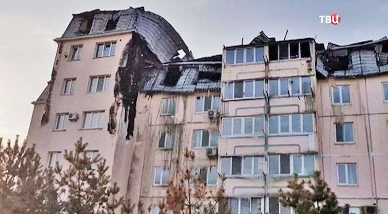 Последсвия пожара в Приморском крае