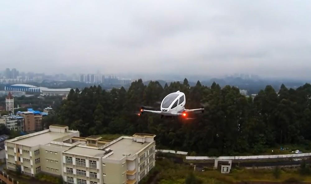 Пассажирский дрон EHang 184