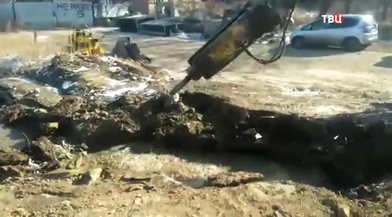 Коммунальная авария во Владивостоке