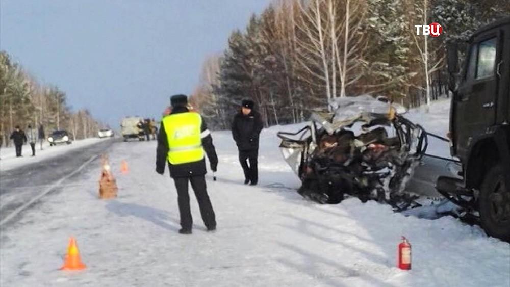 ДТП под Красноярском
