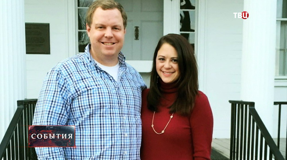 Дэвид Соренсен с супругой