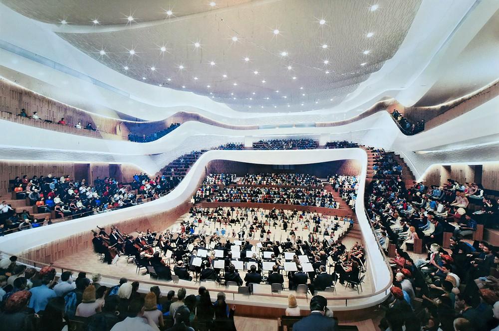 """Проект концертного зала в """"Зарядье"""""""