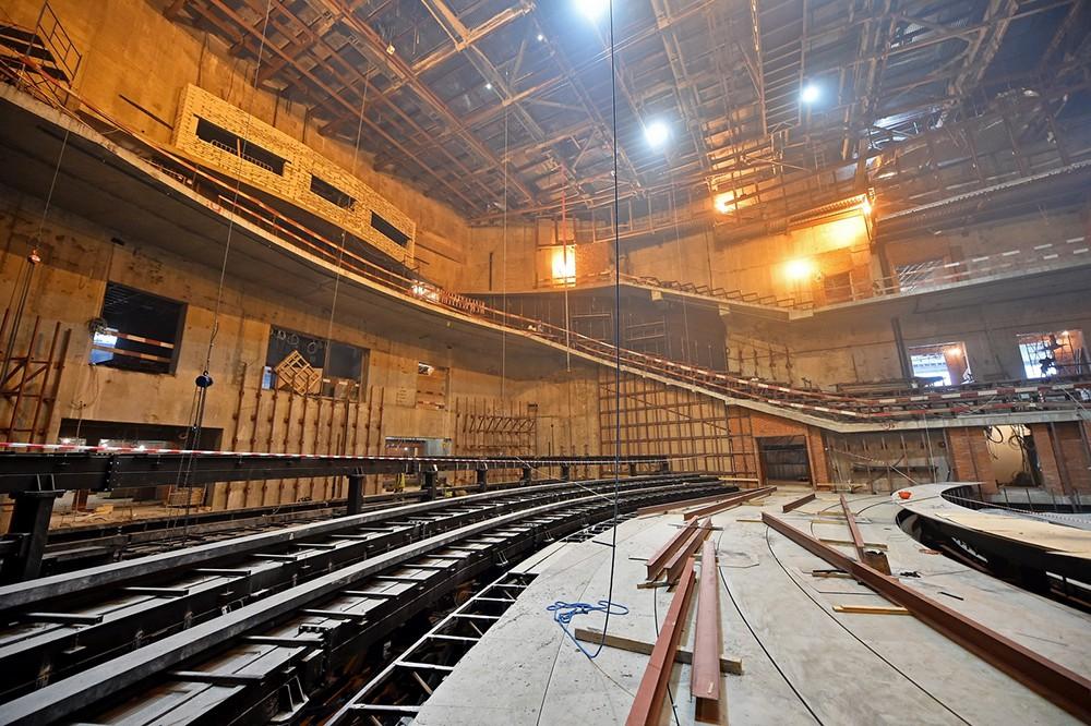 """Строительство концертного зала в """"Зарядье"""""""