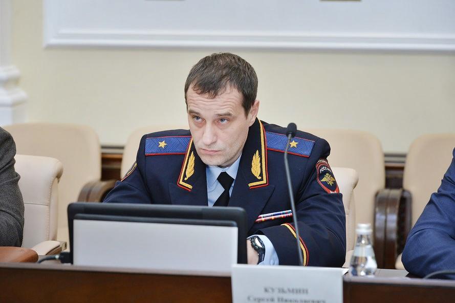Начальник Московского уголовного розыска генерал-майор полиции Сергей Кузьмин