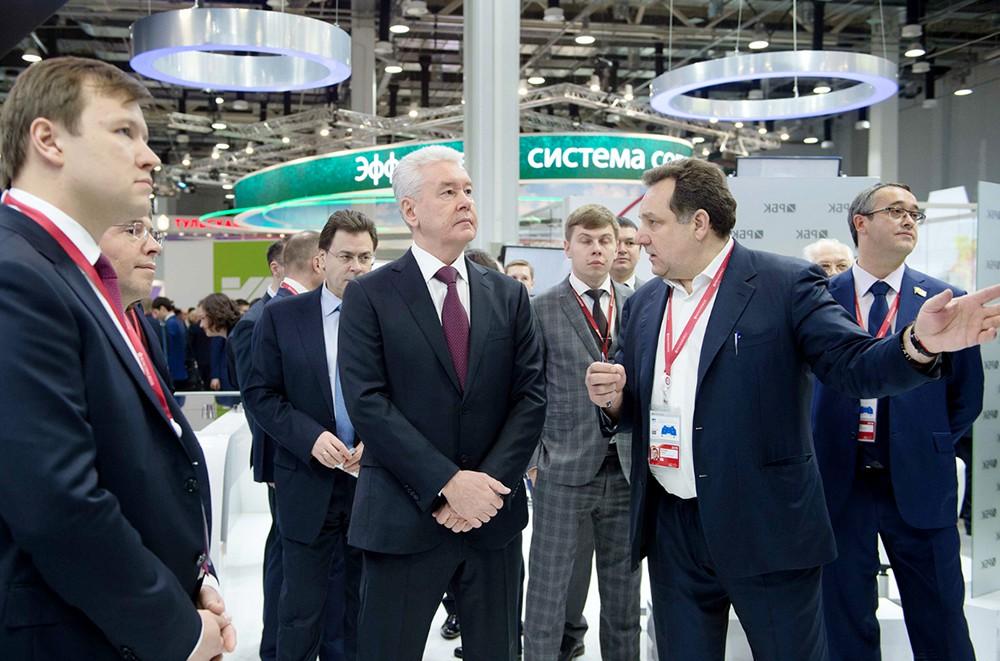Сергей Собянин на Российском инвестиционном форуме