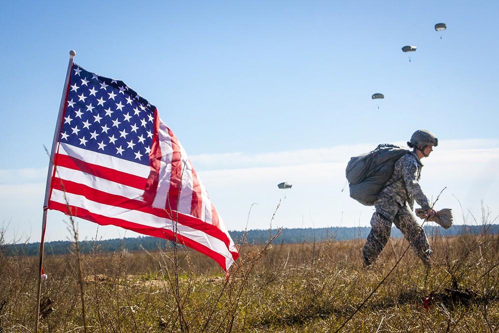 Военнослужащие армии США
