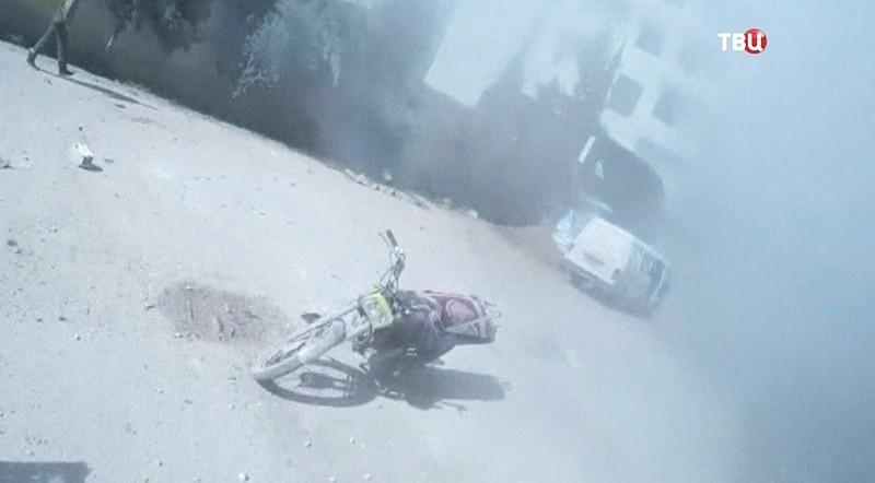 Боевые действия в Дамаске