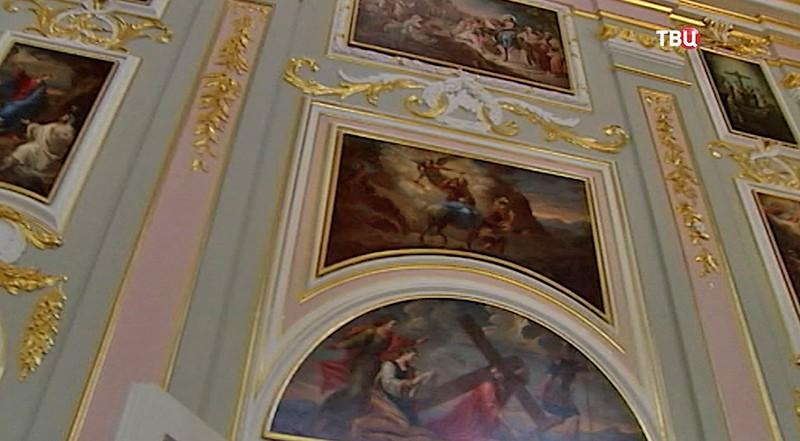 Реставрация церкви Меншиковского