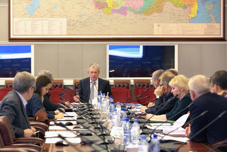Заседание рабочей группы по голосованию на выборах президента России за рубежом