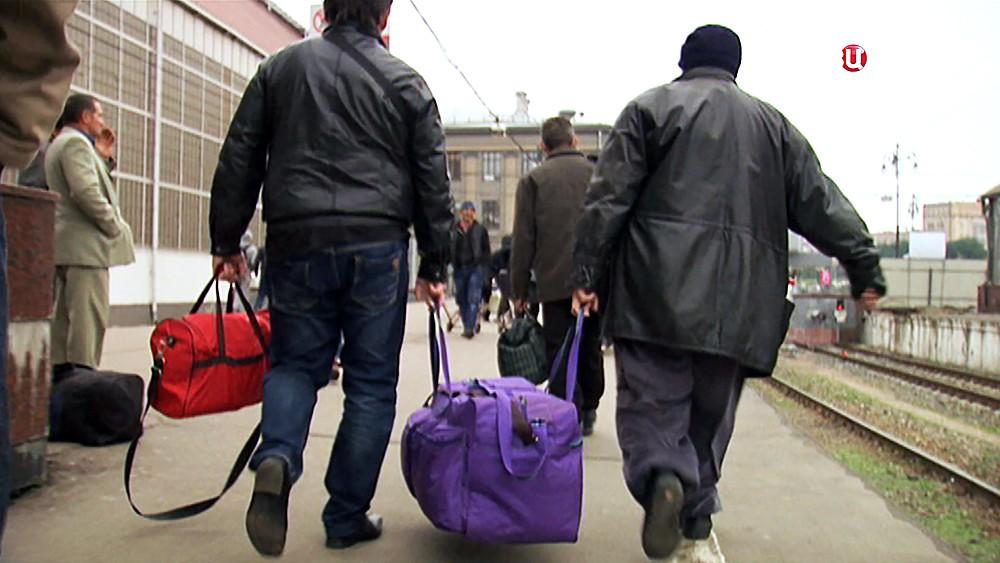 Трудовые мигранты из Украины