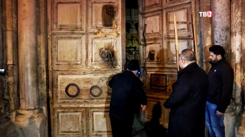 Храм гроба Господня в Иерусалиме