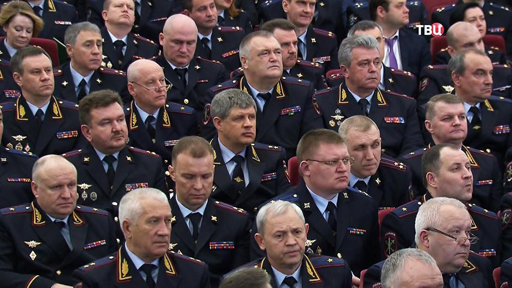 Расширенное заседание коллегии МВД России