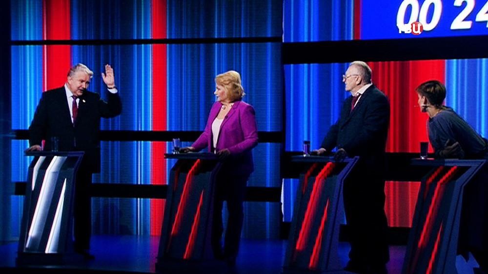 """Предвыборные дебаты на """"ТВ Центре"""""""