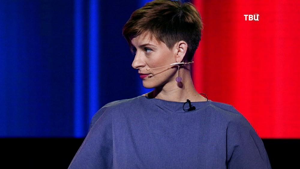 Доверенное лицо Ксении Собчак на дебатах Ксения Чудинова