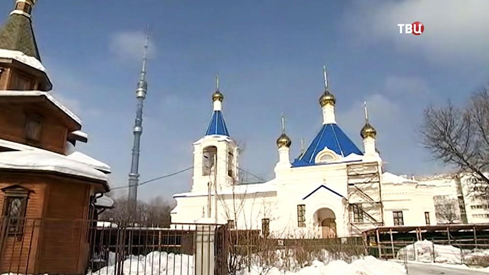 Новый храм в Останкино