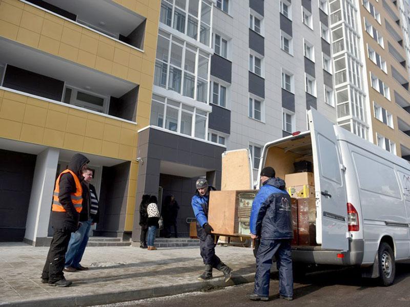 Переселение первых жильцов по программе реновации в новый многоквартирный дом на востоке столицы