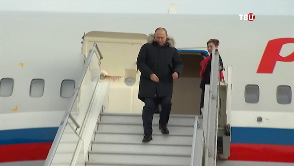Рабочая поездка Владимира Путина в Екатеринбург