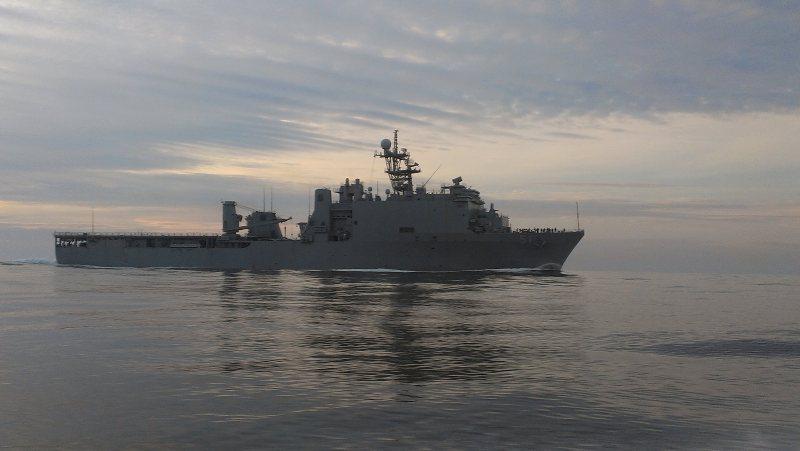В Черное море вошел корабль ВМС США с морпехами на борту
