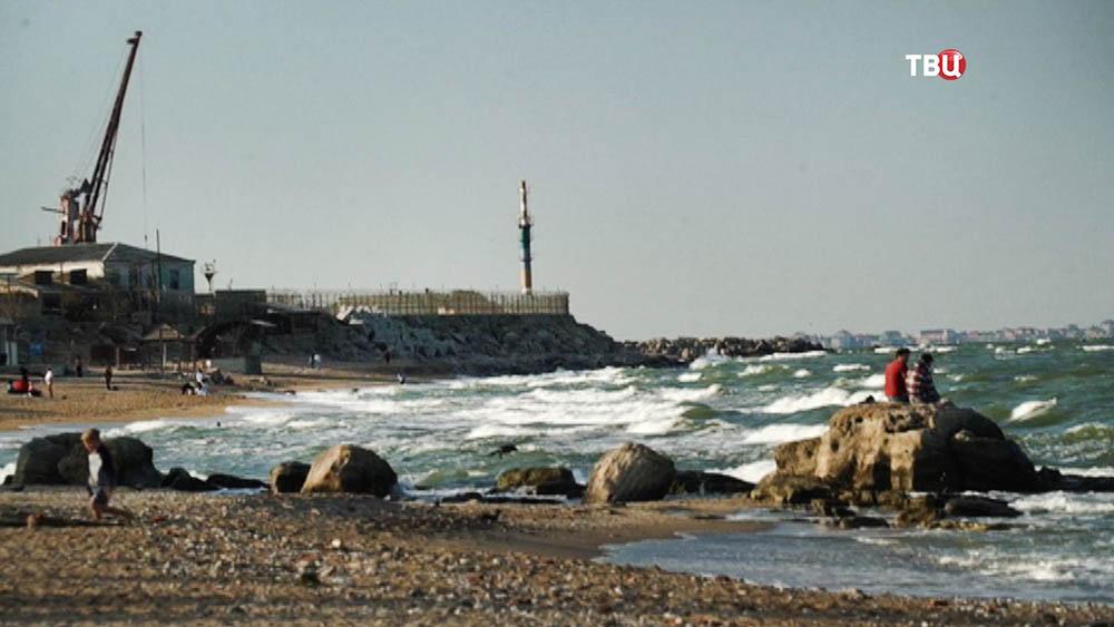 Берег Каспийского моря