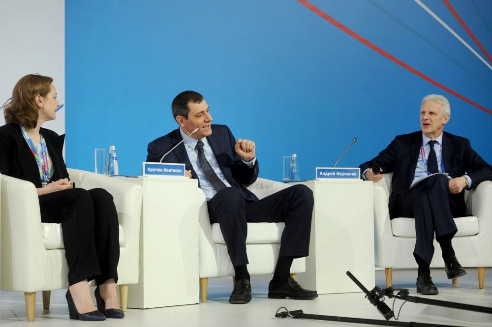 """Участники форума """"Россия - страна возможностей"""""""