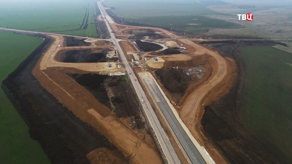 Реконструкция дорог в Крыму