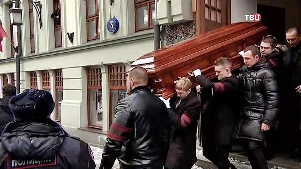Похороны актера и режиссера Олега Табакова