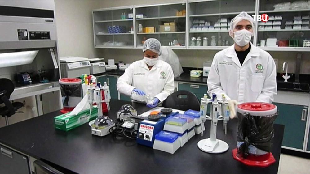 Лаборатория в Великобритании