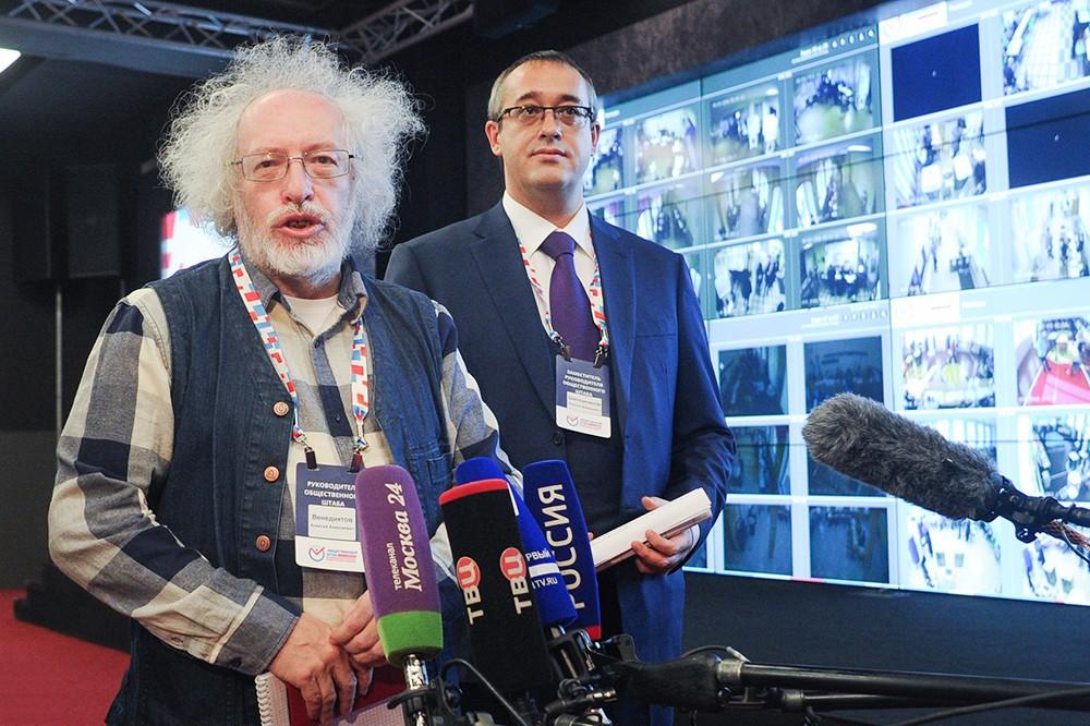 Алексей Венедиктов и Алексей Шапошников