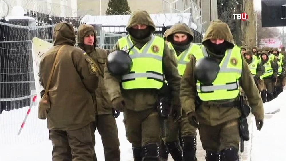 Нацгвардия Украины оцепила здание посольства России