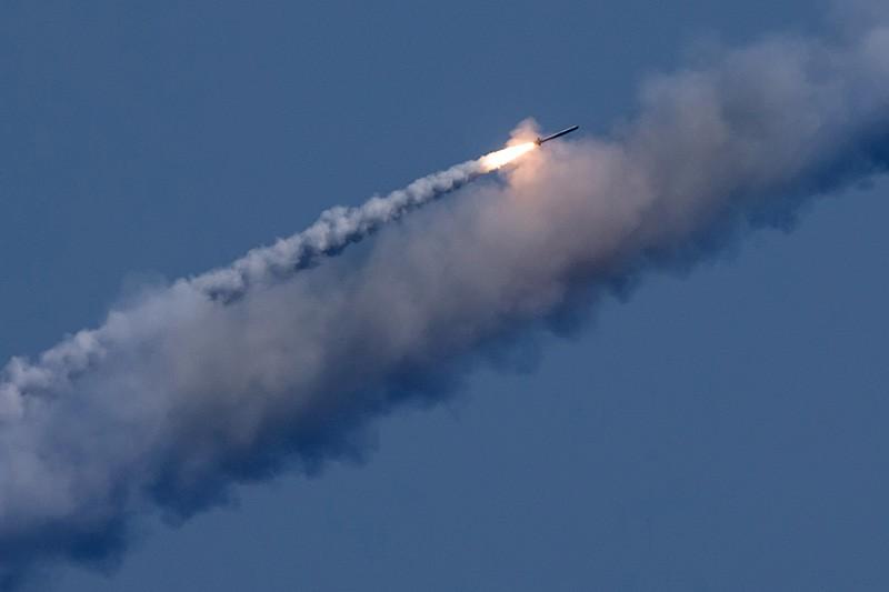 Запуск крылатой ракеты