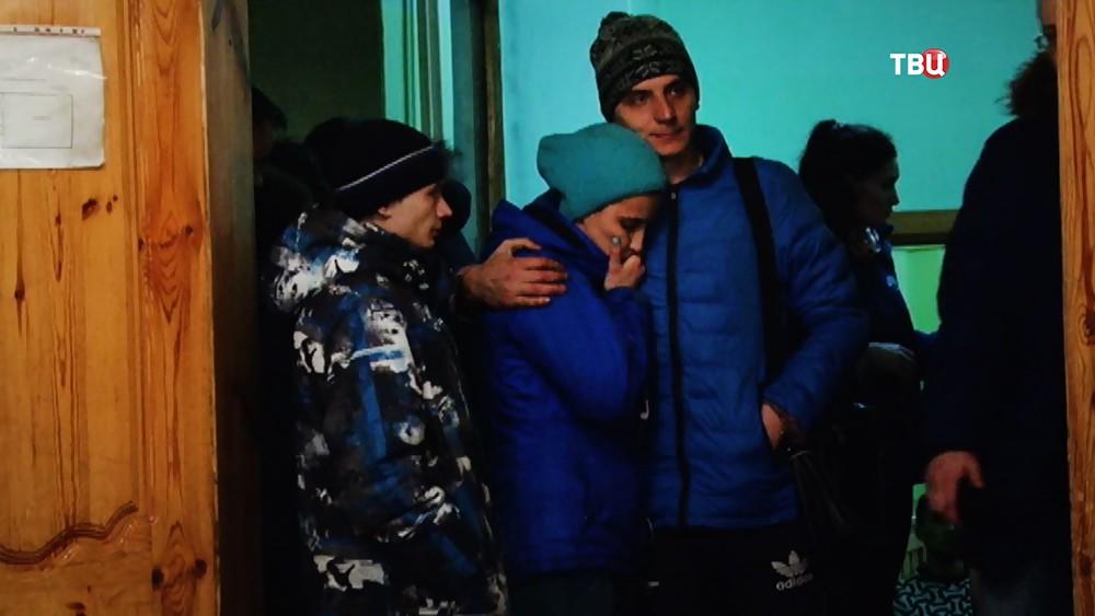 Близкие пострадавших и погибших в пожаре в торговом центре в Кемерове