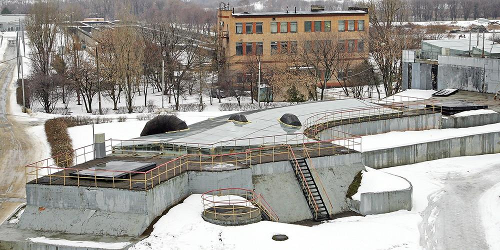 Курьяновские очистные сооружения