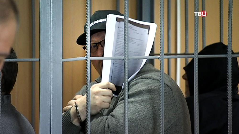 Криминальный авторитет Захарий Калашов по кличке Шакро Молодой в суде