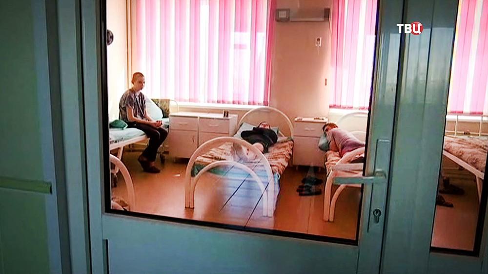 Пострадавшие при пожаре в торговом центре в Кемерове в больнице