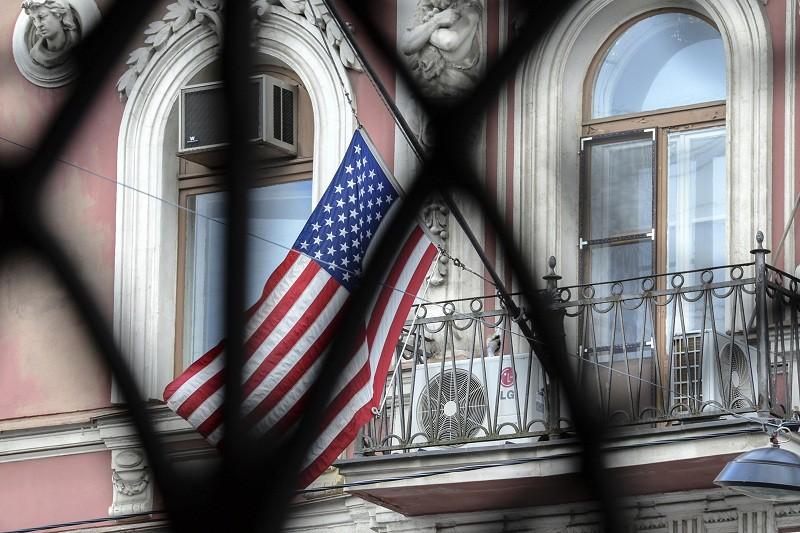 Здание генконсульства США в Санкт-Петербурге