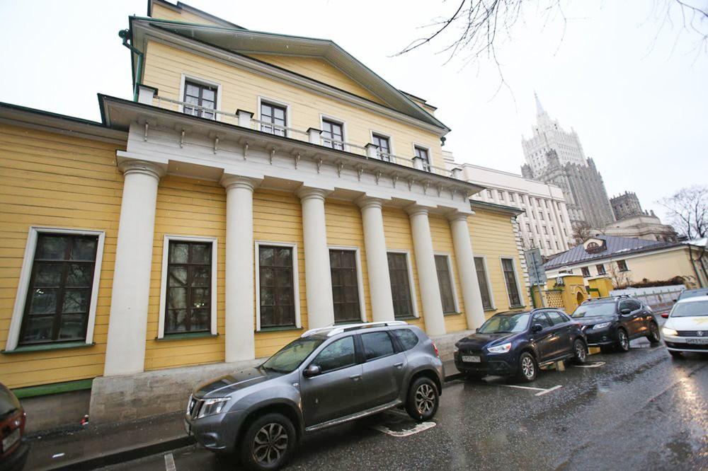 Усадьба кавалергарда А.Поливанова после реставрации