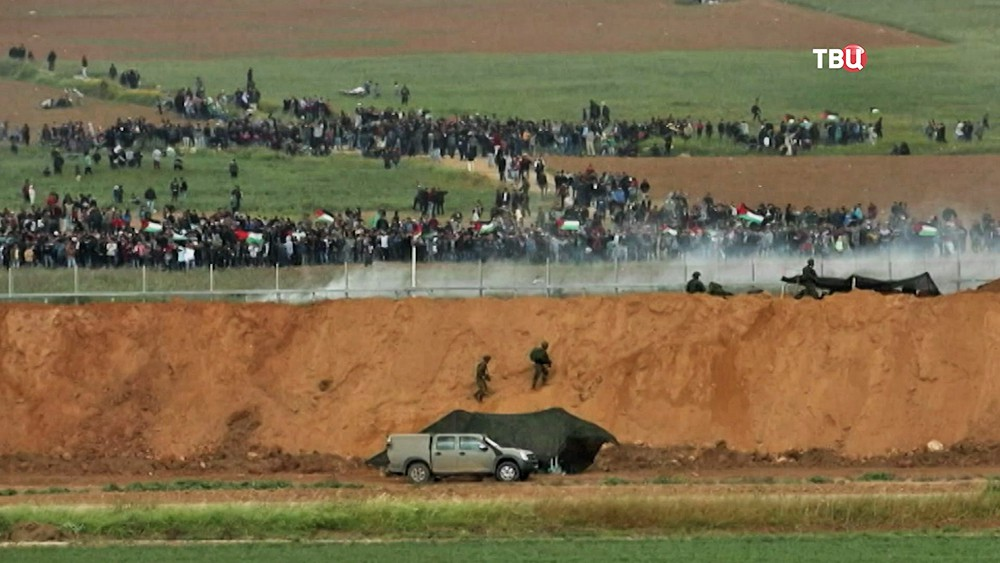 Беспорядки на границе сектора Газа