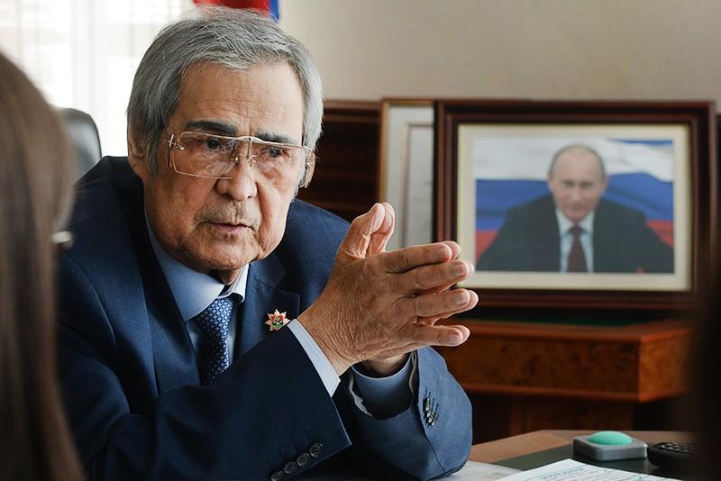 Экс-губернатор Кемеровской области Аман Тулеев