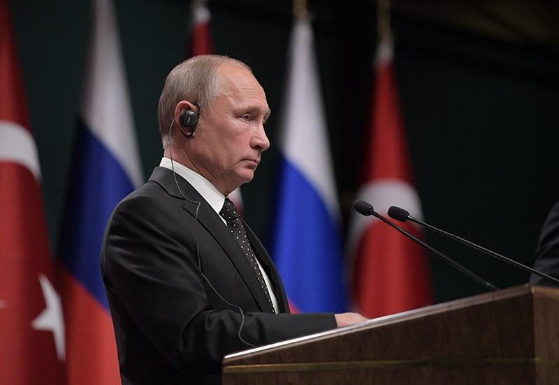Рабочий визит президента России Владимир Путина в Турцию