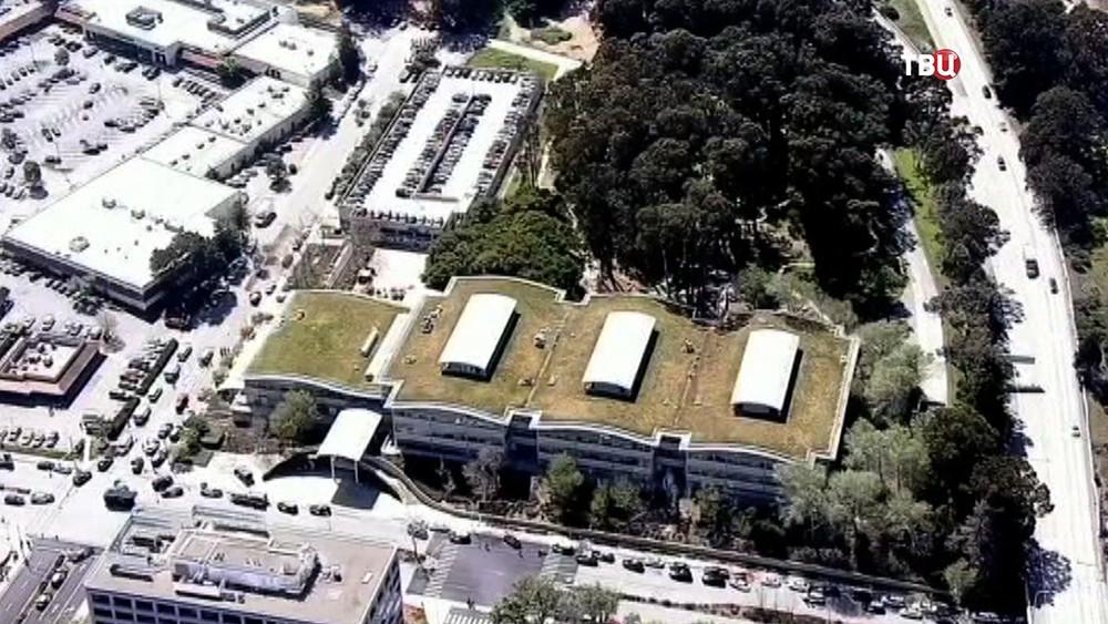 Штаб-квартира YouTube в Калифорнии
