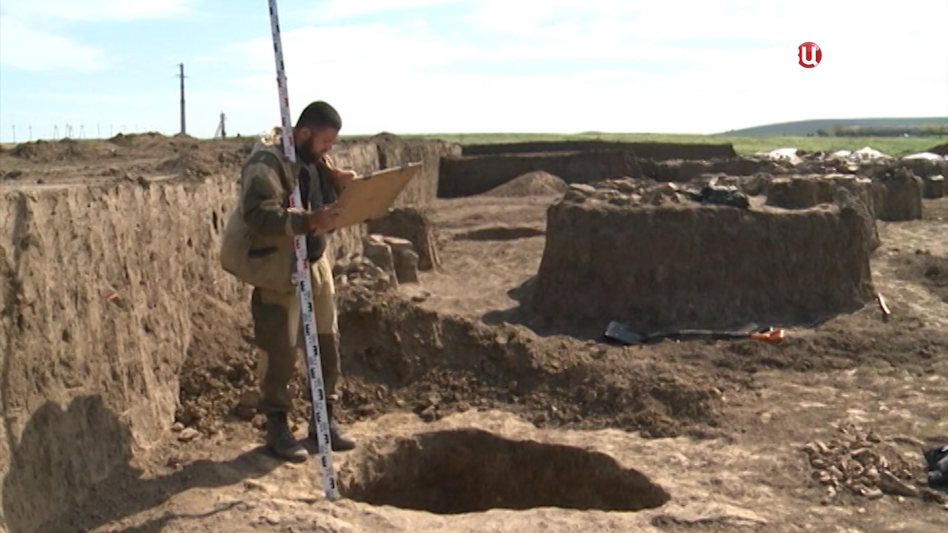 Археологические раскопки в Крыму
