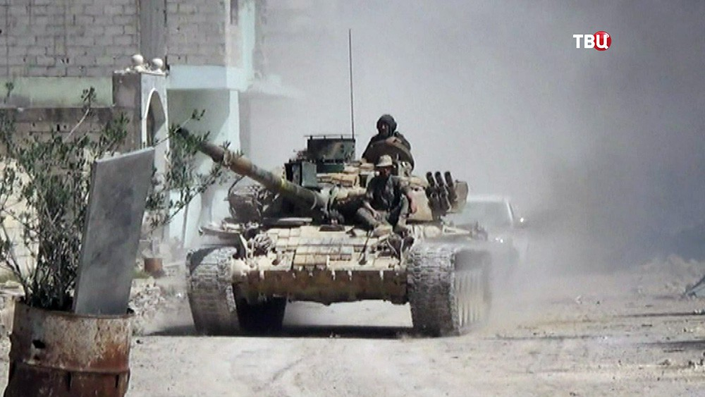 Военная техника армии Сирии