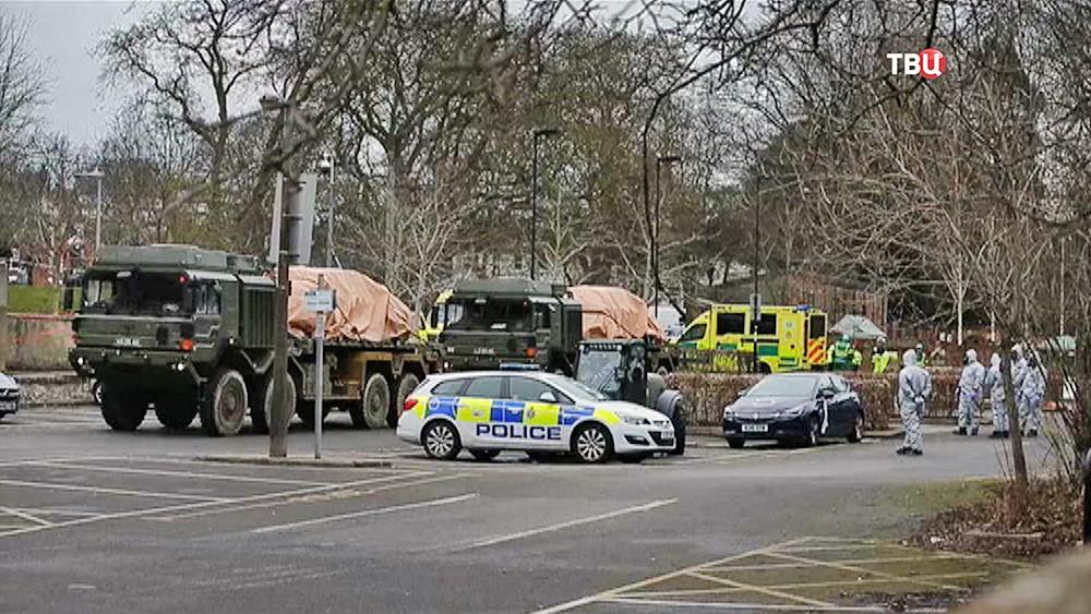 Полиция Великобритании ищест следы отравления Скрипалей