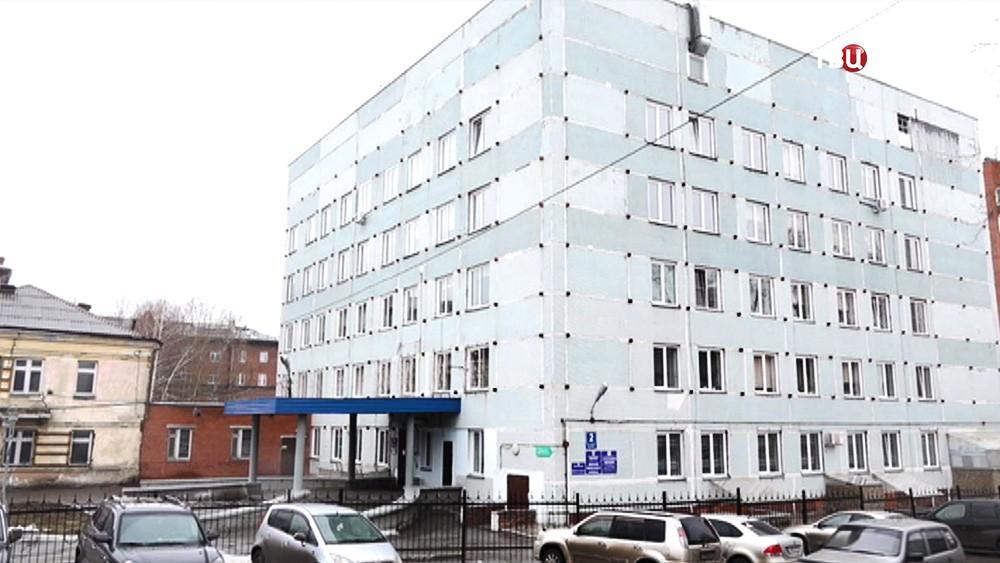 Больница Новосибирска, где медсестру подозревают в избиении новорожденного