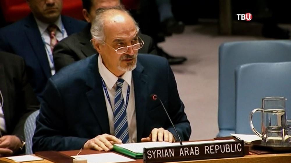 Постоянный представитель Сирии в ООН Башар Джаафари