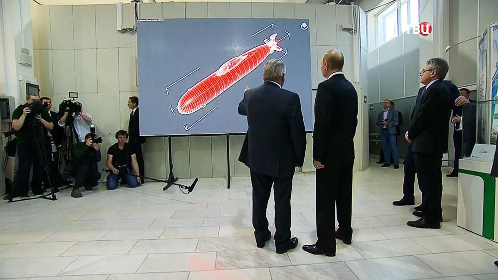 Путин ознакомился сновейшими разработками ученых вКурчатовском университете
